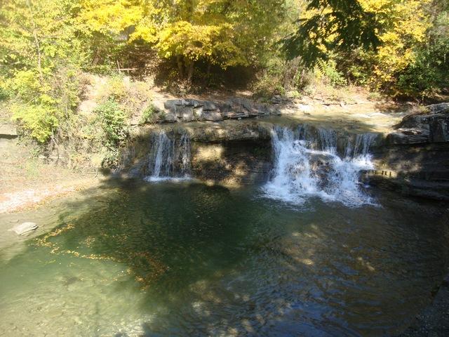 Первый водопад Жане