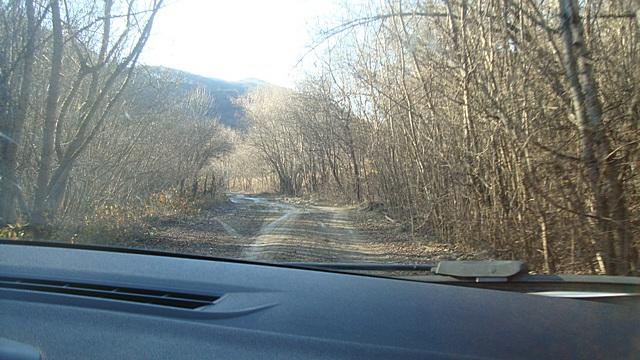 Дорога к дольменам