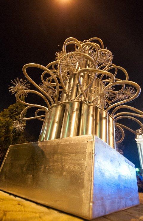 Необычные новогодние елки в Краснодаре 10