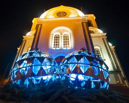 Необычные новогодние елки в Краснодаре 2