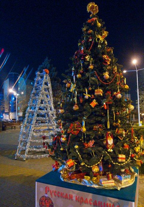 Необычные новогодние елки в Краснодаре 6