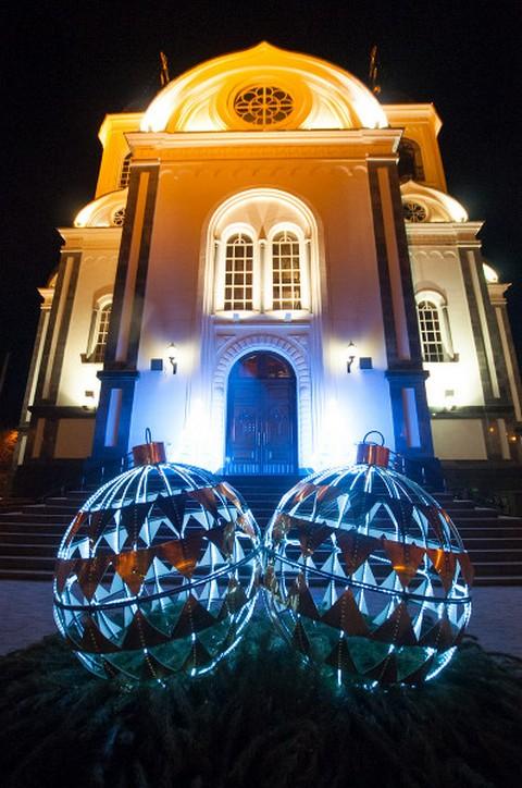 Необычные новогодние елки в Краснодаре 9