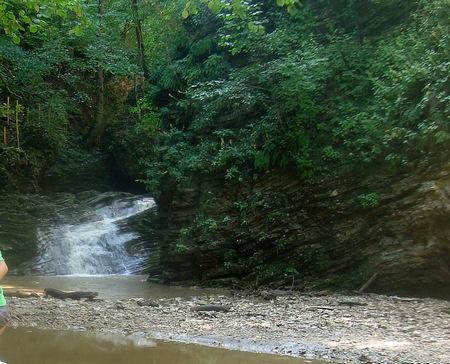 Водопады Руфабго 2