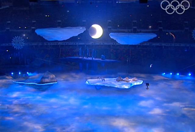 Сочи 2014 Открытие Олимпиады 5