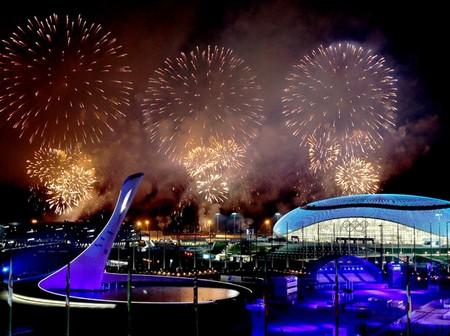 Церемония закрытия Олимпийских игр в Сочи 2