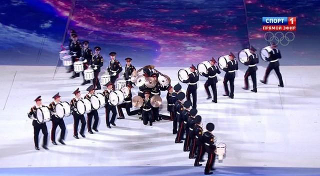 Церемония закрытия Олимпийских игр в Сочи5