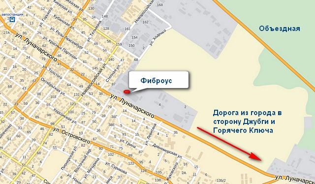 Карта Фиброус