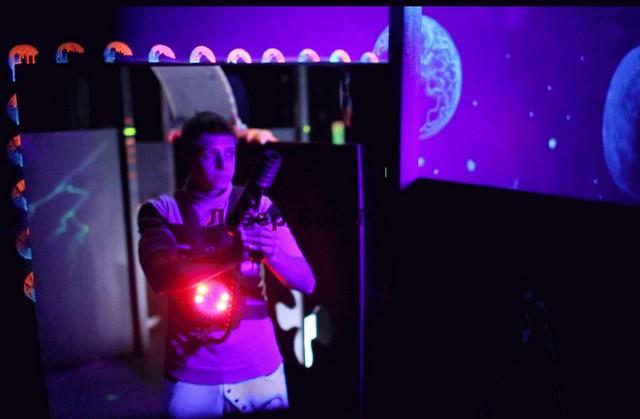 Лазер Бой лабиринт 2