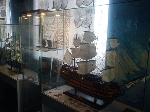 Морской музей первый зал 1