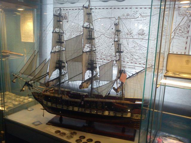 Морской музей первый зал 2