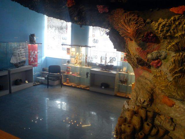 Морской музей первый зал 4
