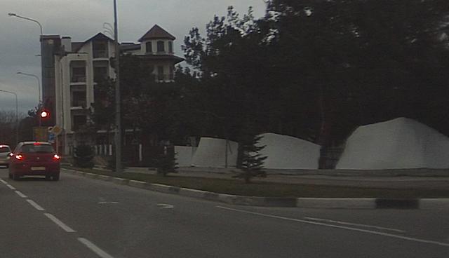 Норд-ост в Геленджике 10 марта 2014 года