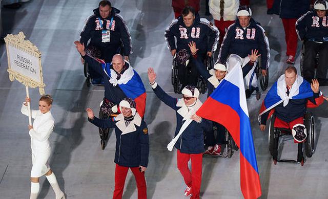 Открытие Паралимпийских игр 6