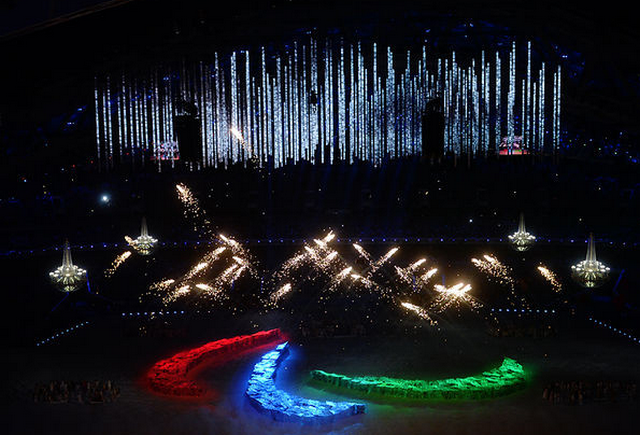 Открытие Паралимпийских игр 8