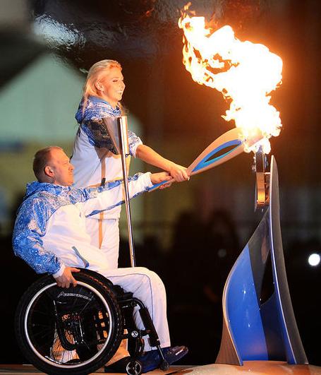 Открытие Паралимпийских игр 9