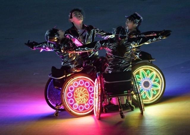 Церемония закрытия паралимпийских игр  в Сочи 2014 10