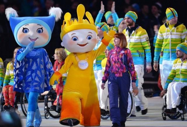 Церемония закрытия паралимпийских игр  в Сочи 2014 5