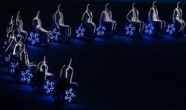 Церемония закрытия паралимпийских игр  в Сочи 2014 6