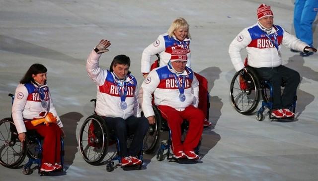 Церемония закрытия паралимпийских игр  в Сочи 2014 7