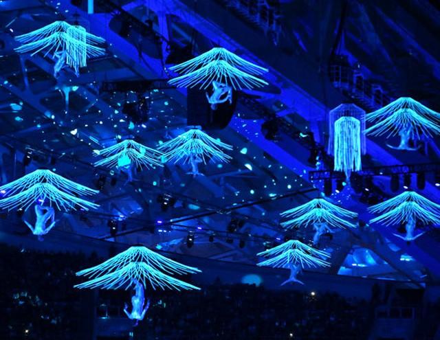 Церемония закрытия паралимпийских игр 2