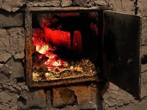 Причина пожара - отопительная печь