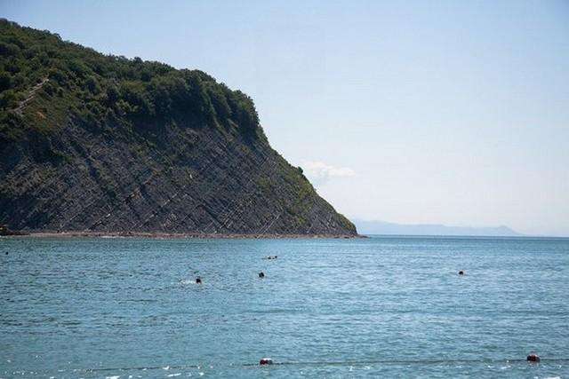 Архипо-Осиповка пляж 16 июня 2014 года