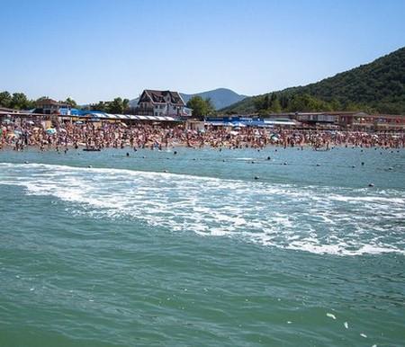 Архипо-Осиповка пляж