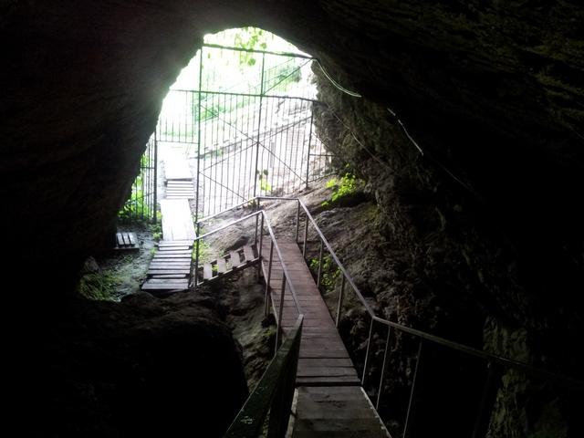 Ахштырская пещера Сочи 11