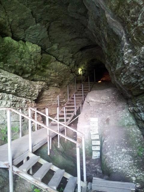 Ахштырская пещера Сочи 4