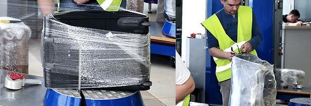 Аэропорт Геленджик упаковка багажа