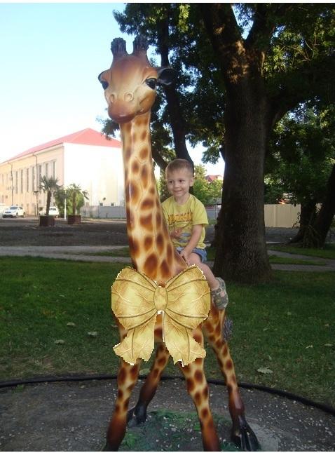 Верхом на жирафе