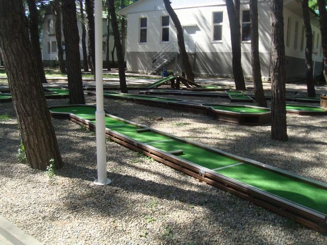 Мини-гольф фото 2