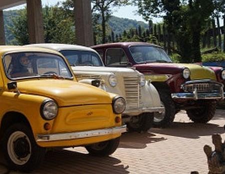 Музей ретро-автомобилей в селе Архипо-Осиповка Геленджик