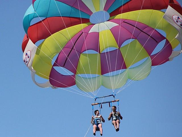 Полет на парашюте в Геленджике 2