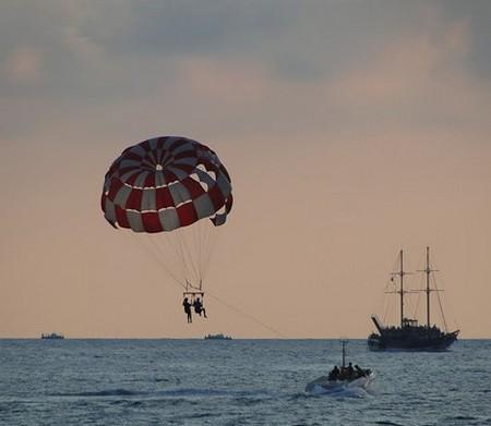 Полет на парашюте в Геленджике