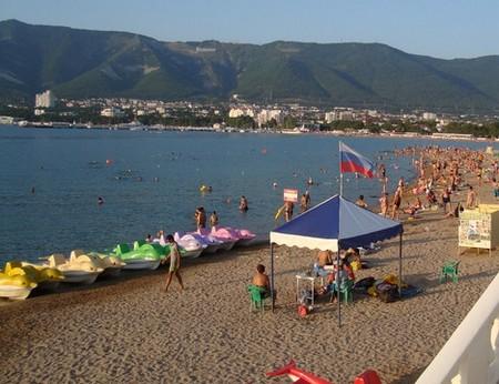 Центральный городской пляж Геленджика