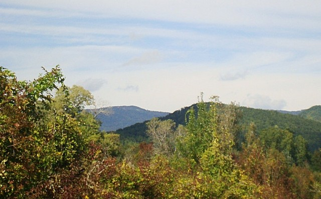 Геленджик в октябре - горы