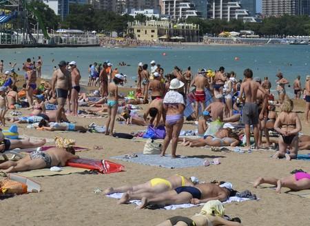 Песчаные пляжи Геленджика