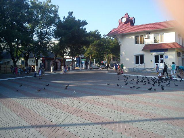 Площадь в Геленджике