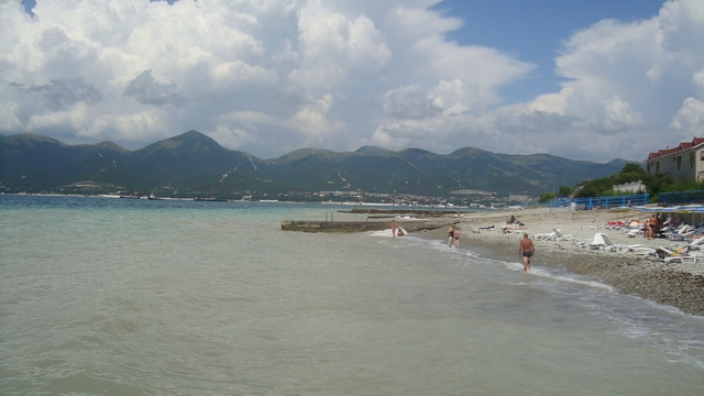 Пляж Надежды в Кабардинке 4