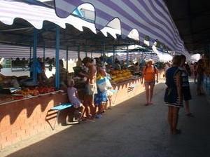Рынок курорта