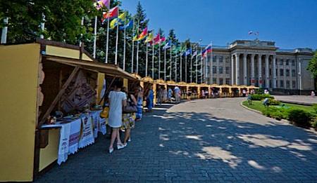 Ярмарка народных промыслов в Краснодаре 5