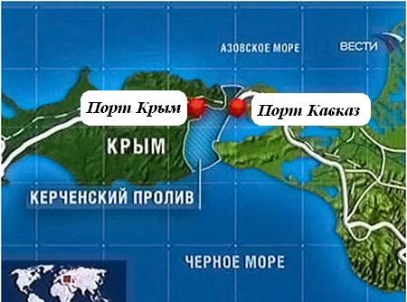 Порт Кавказ Порт Крым