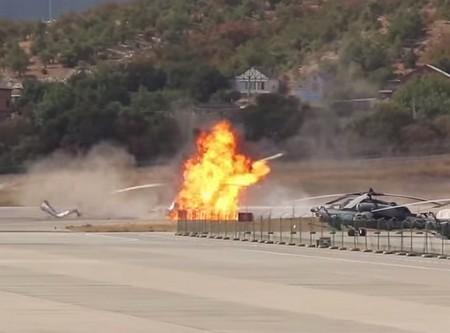 Крушение вертолета в Геленджике 4 сентября 2014 года видео