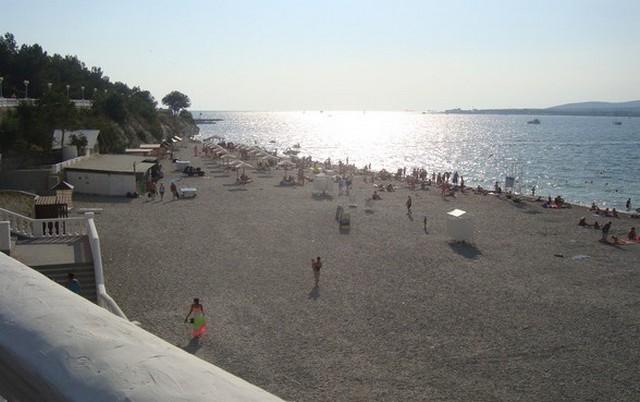 Пляж ДОЛ Нива