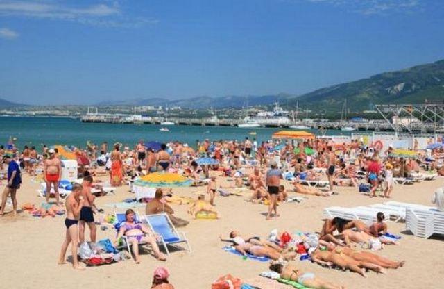 Пляж центральный фото 2