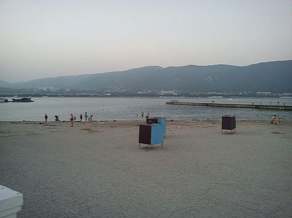 пляж пансионата Тонкий мыс