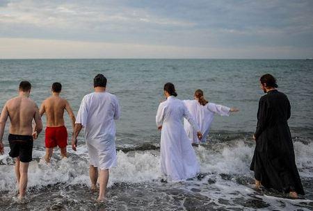 Крещенские купания Новороссийск