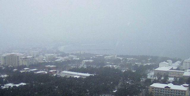 Снег в Геленджике