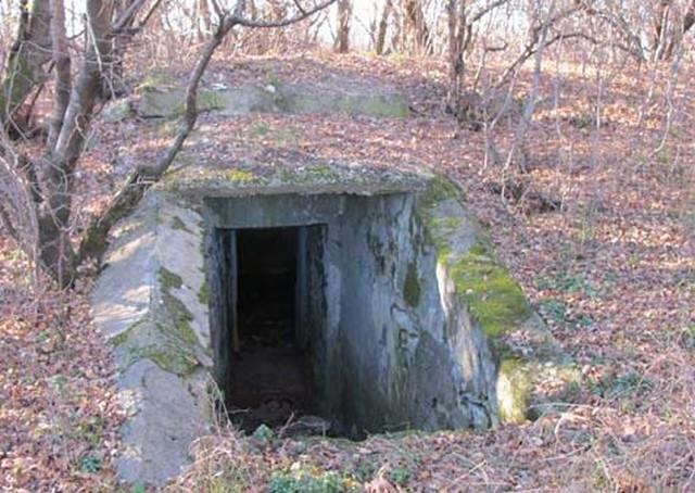 Батарея - вход в подземелье